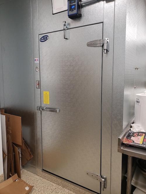 Walk in Freezer Door