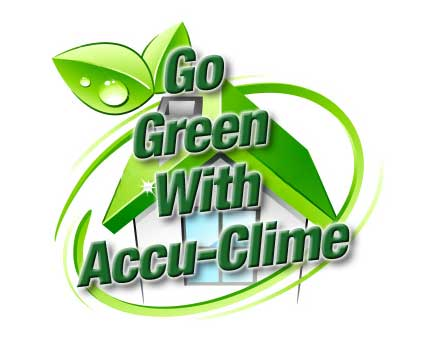 Go Green with Accu-Clime